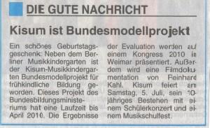 Bundesmodellprojekt 30.06.08