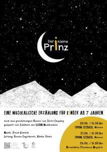 Plakat Der kleine Prinz